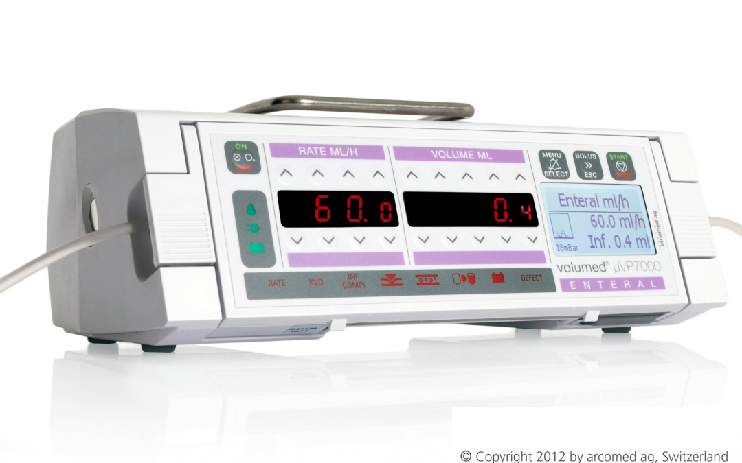 The infusion pumps for enteral nutrition