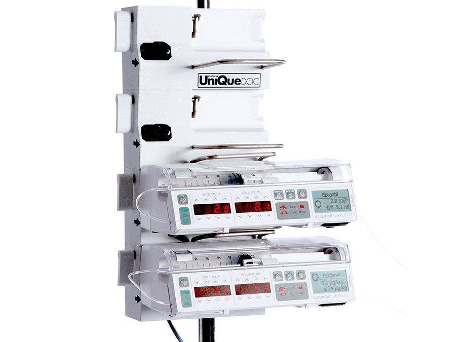 Size and handling of Arcomed infusion pumps