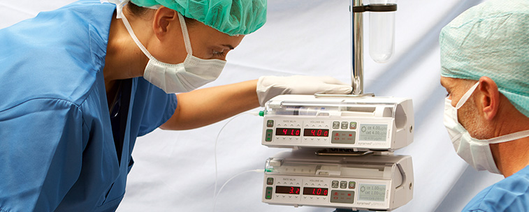 Infusion Pumps in the Operating Room: Versatility and Safety Are Key