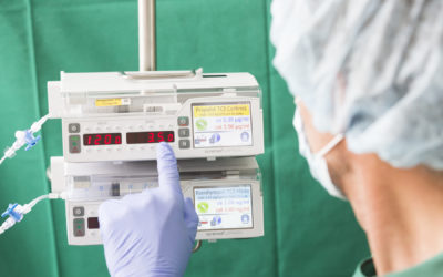 Infusion in surgery: simplicity and technology, the two key issues