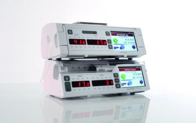 Why do arcomed infusion pumps save time?