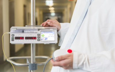 Mobility in patients receiving intravenous medication